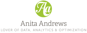 Anita Andrews - Lover of Data, Analytics & Optimization